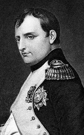 Engraving of Napoleon Bonaparte